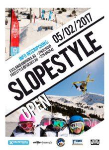 Slopestyle Snowpark Tarter Open @ Soldeu